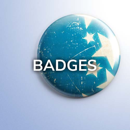 Badges at 2 Four 6 Marketing