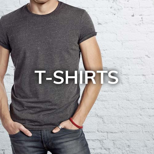 T-shirts and other promotional merchandise